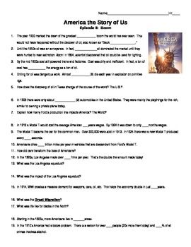 America The Story Of Us Episode 1 Rebels Guided Notes Guided