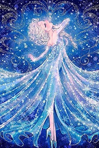 Full Drill Diamond Painting Frozen Princess By Number Kit Https Smile Amazon Com Dp B07gfjxrw3 Ref Cm Sw R Pi Dp Disney Art Princess Cartoon Disney Frozen