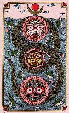 Simple steps to Kundalini awakening. Kundalini is our motherly energy that needs to be awakened when we get our self realization or self actualization. Madhubani Art, Madhubani Painting, Art Visionnaire, Hindu Art, Gods And Goddesses, Religious Art, Tribal Art, Indian Art, Sacred Geometry