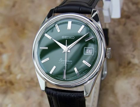 Vintage Restored Seiko 1960s Sportsman in Excellent