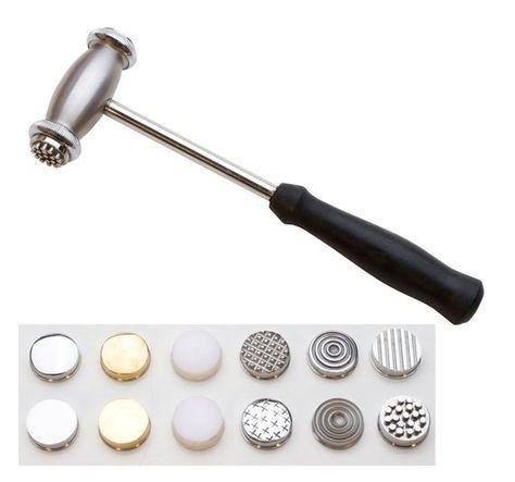 Embossing joyeros Forming martillo plata Smith persiguiendo REPOUSSE trabajo de los metales