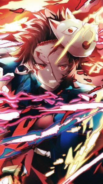 26 Tanjiro Wallpaper Anime Kimetsu No Yaiba Hd Tanjiro Flame Mask Kimetsu No Yaiba 4k Hd Mobile Smartphone And Source Anime Demon Anime All Anime Characters