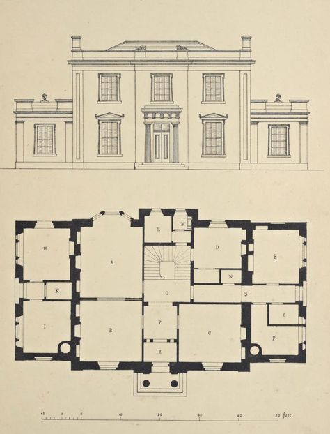 Pin By Kevin Keller On Architectural Drawings Vintage House Plans Architecture Architecture Plan