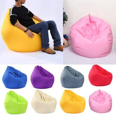 Bean Bag Chair Sofa Cover Large Pouch Beanbag Lazy Couch Single Chair Furnitureaverage Rating 0out Of5stars Ba Bean Bag Chair Kids Bean Bag Chair Single Chair