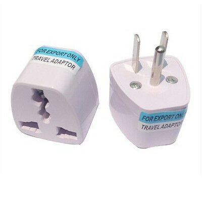 Universal EU UK AU to US AC Travel Power Plug Adapter Outlet Converter