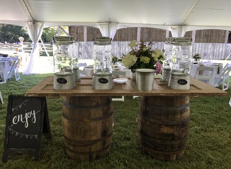 Wedding Beverage Station -