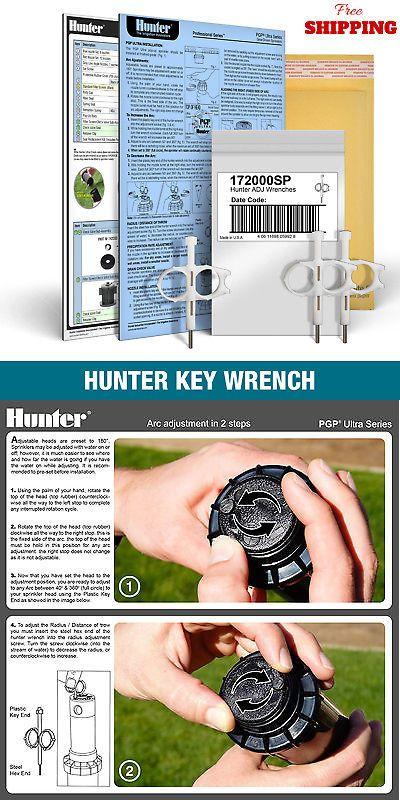 Hunter Head Adjustment Key Tool Wrench Sprinkler Orbit K Rain Pgp Ultra I 20 Ebay Sprinkler Wrench Lawn Sprinklers