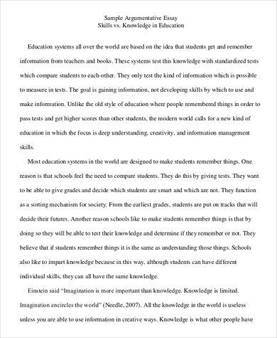 Free 9 Argumentative Essay Samples In Pdf Ms Word Argumentative Essay Argumentative Essay Outline Argumentative Essay Topics