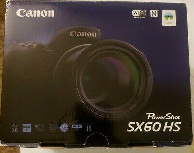 Canon Powershot Sx60 Hs 16 1mp 65x Optical Zoom Wifi Nfc Powershot Canon Powershot Digital Camera
