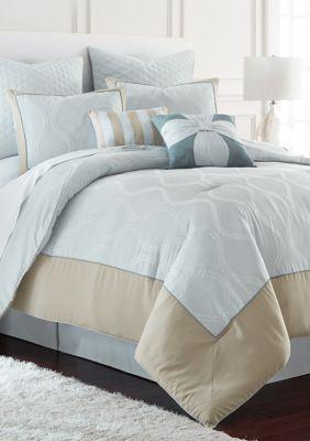 Modern Threads 8 Piece Comforter Set In 2020 Comforter Sets Luxury Bedding Sets Cool Comforters