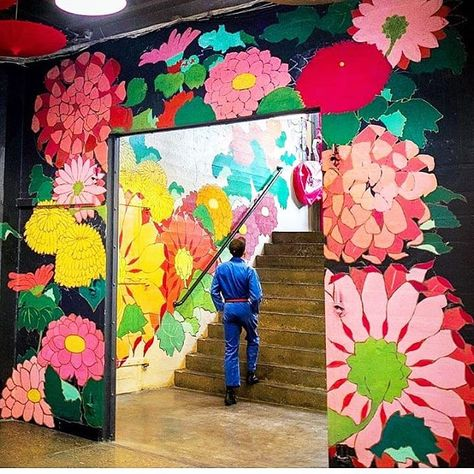 "NYC's CULTURE CURATOR on Instagram: ""Spring has sprung at Industry City's Japan Village! @industrycity @japanvillagebrooklyn . . .  #FOMOfeed #NYC #NewYorkCity #StreetArt…"""