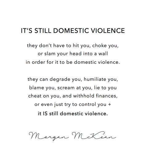 Just a reminder that domestic violence isn't just categorized as physical or sexual abuse. #narcissisticabuse #domesticviolence #narcissism #narcissist #codependentnomore #codependency