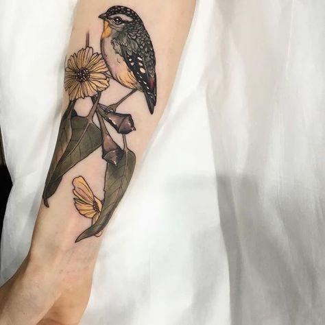 Tatouage Oiseau Passion Pour La Liberte Et Desir De Changement