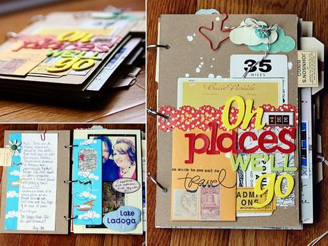 Bucket list album ---->brilliant idea!  Once you complete item on list, add another page to album! http://auntierere.blogspot.dk/2011/08/its-bits-and-bobs-again.html?m=1