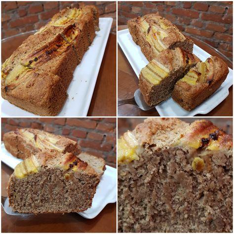Sucesso Total D Obrigado Banana Bread Vegano R 6 00 Banana