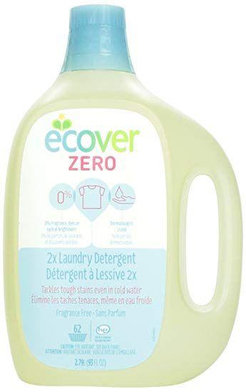 Ecover Zero 2x Laundry Detergent Fragrance Free 93 Fl Oz Review