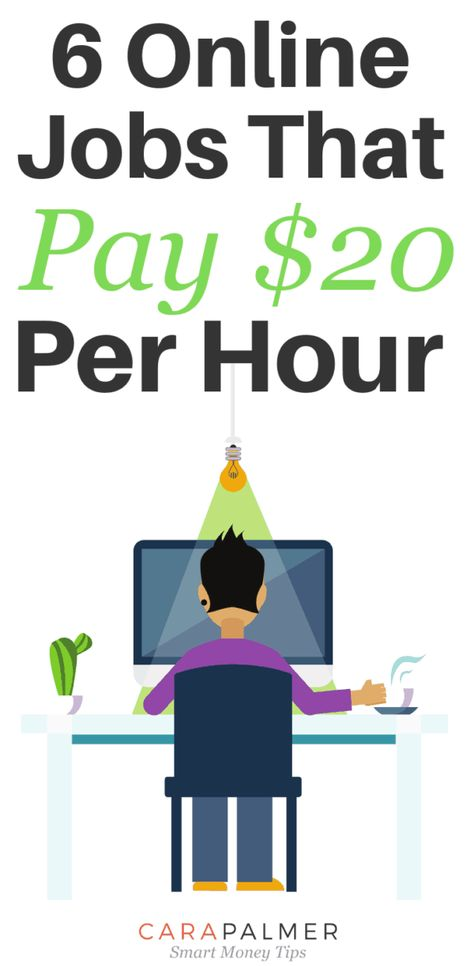 6 Legitimate Work From Home Jobs That Pay $20 Per Hour