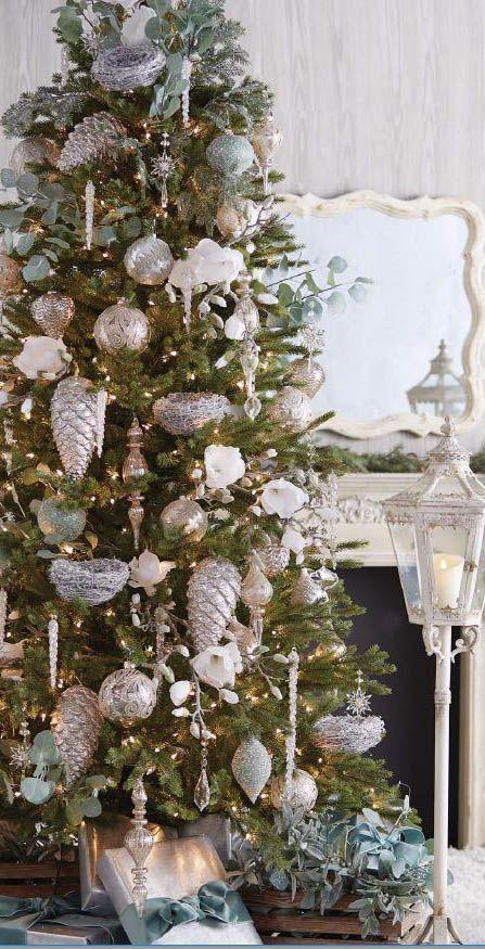 Raz 2018 Christmas Trees Elegant