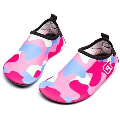 Water Shoes Men Women Quick-Dry Sports Water Skin Shoes Aqua Socks Barefoot Footwear with Rubber Sole For Water Sport Beach Pool Camp Yoga Fitness