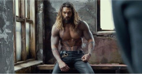 Jason Momoa as Aquaman in His Short Film   POPSUGAR Entertainment