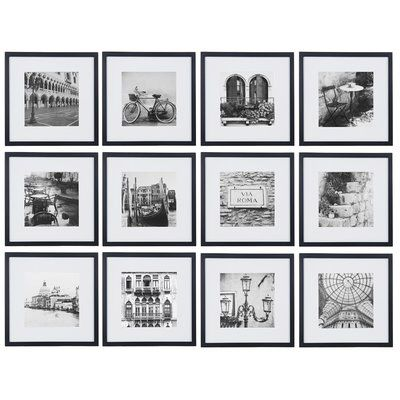 Noland 12 Piece Matted Picture Frame Set Gallery Wall Frames Photo Wall Gallery Gallery Wall Kit