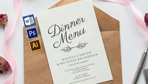 31 Printable Dinner Invitation Templates Psd Ai Vector