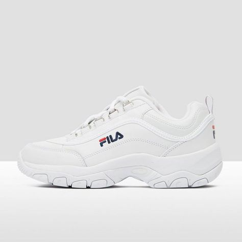 Fila chunky strada low sneakers wit dames | Sneakers, Shoes ...
