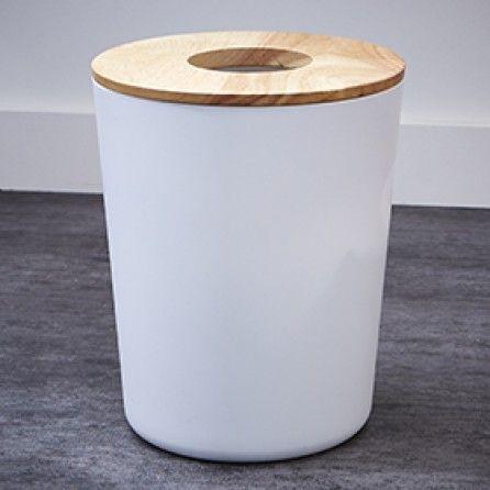 découvrez cette poubelle de salle de bains ou cuisine 6 l