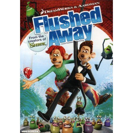 Flushed Away Dvd Walmart Com In 2020 Flushed Away Aardman Animations Full Movies Online Free