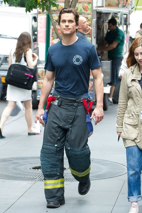 Matthew Bomer as FireFighter
