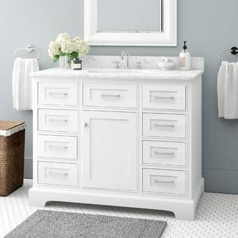Luz 42 Single Bathroom Vanity Set Single Bathroom Vanity Bathroom Vanity Vanity Set