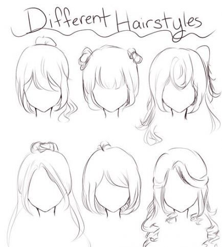 Best Hair Drawing Reference Comic 25 Ideas In 2020 Anime Drawings Sketches Anime Drawings Tutorials Hair Sketch