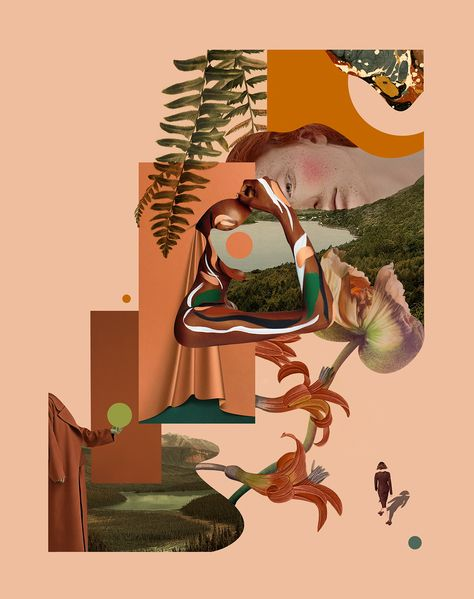 """Check out this @Behance project: """"Series of three geometric collage posters"""" https://www.behance.net/gallery/59114283/Series-of-three-geometric-collage-posters"""