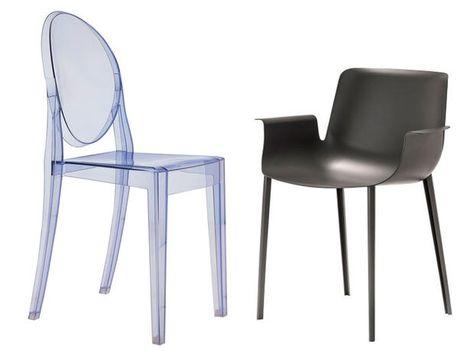 Le dieci sedie più vendute di Kartell: dalla Louis Ghost alla Mr ...