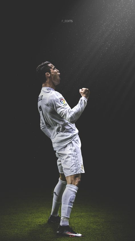 Cristiano Ronaldo. Lock screen.