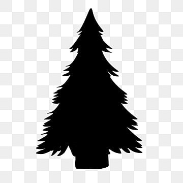 Black Christmas Tree Silhouette Black Christmas Tree Silhouette Png Transparent Clipart Image And Psd File For Free Download Christmas Tree Silhouette Black Christmas Trees Tree Silhouette