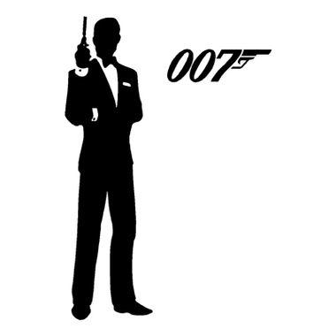 James Bond Tuxedo And 007 Logo James Bond James Bond Tuxedo 007 James Bond