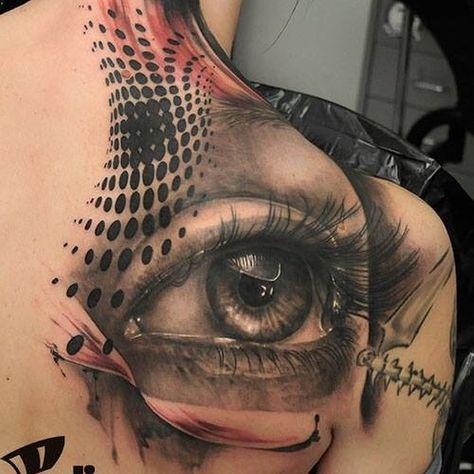 One small neck cover up... Todays... #tattoo #tattooed #tattoos_of_instagram #tattooartist #t#intenze_products #ink #inkfreakz #cheyennetattooequipment #sorrymom #peditattoo #bltattoo #eye