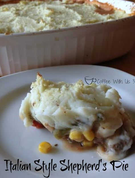 Italian Style shepherd's pie by Coffee With U 3