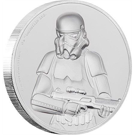 Star Wars: Stormtrooper™ Ultra High Relief 2oz Silver Coin