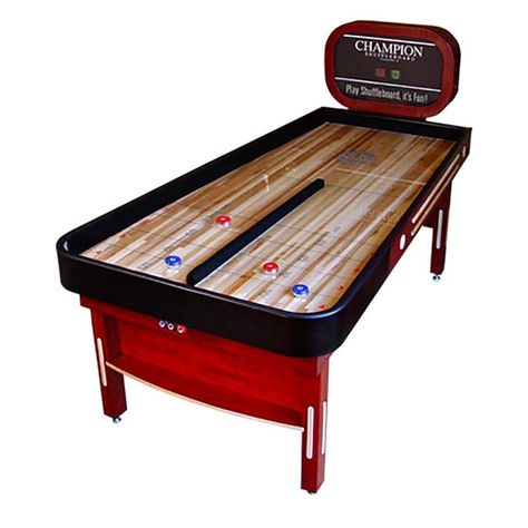 Small Shuffleboard Table Expensive Home Office Furniture Check