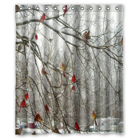 Home Holiday Shower Curtains Fabric Shower Curtains Shower