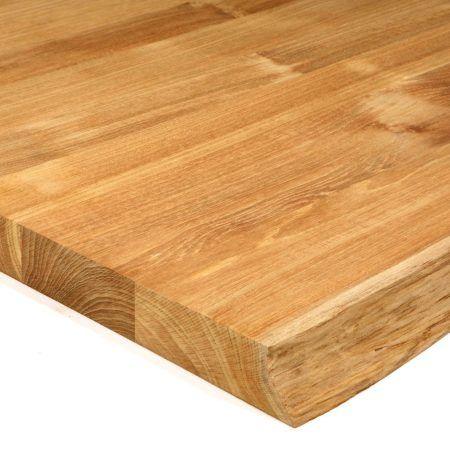 Teakholzplatte Mit Baumkante Von Biomaderas 40mm Teak Holz Teak Holz