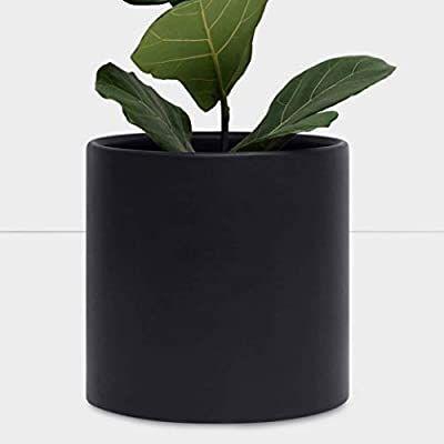 Amazon Com Peach Pebble 11 Ceramic Planter 12 11 10 9 8 Or 7 Large White Plant Pot In 2020 Indoor Flower Pots Indoor Planters Terracotta Flower Pots