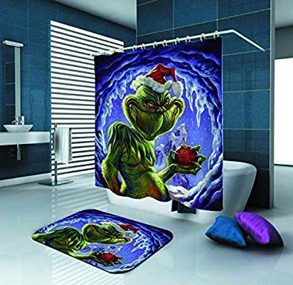 Amazon Com Sara Nell The Grinch Shower Curtain The Grinch