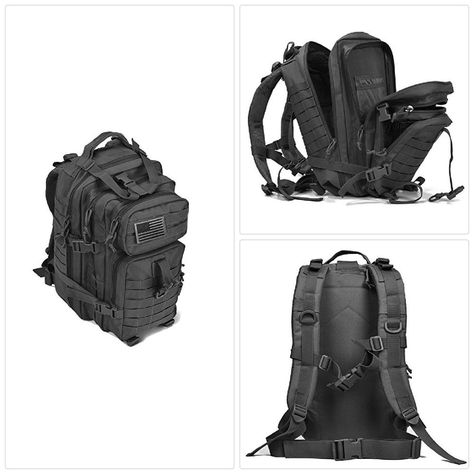 cfcb4158f1 REEBOW GEAR Military Tactical Backpack Small Assault Pack Army Molle Bug  Out Bag