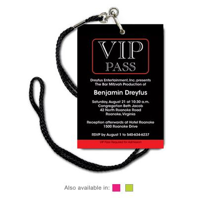 VIP pass as invitation March 2013 party Pinterest Vip pass - free vip pass template