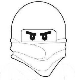 Das Creativchen Ninjago Laterne Nr 1 Anleitung Ninjago Schultute Ninjago Geburtstag Ninjago Ausmalbilder