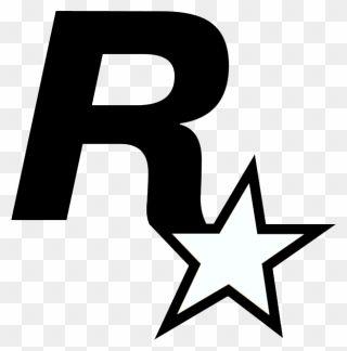 Grand Theft Auto V Grand Theft Auto Online Rockstar Rockstar Games Logo Vector Clipart Rockstar Games Logo Grand Theft Auto Rockstar Games