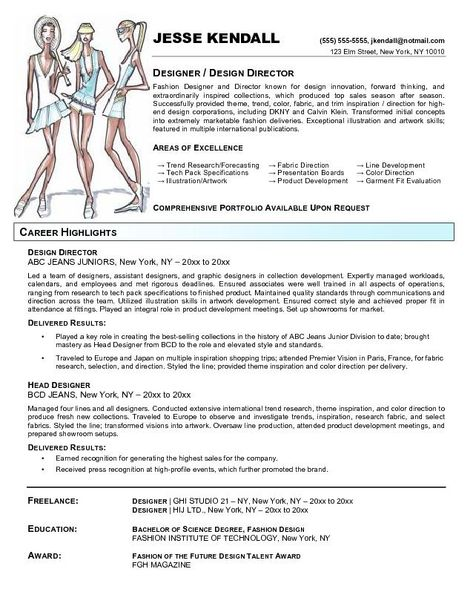 fashion resume templates fashion designer resume templates - mixologist resume